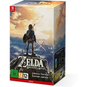 Jogo The Legend Of Zelda Breath Of The Wild Special Edition Switch