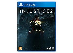 JOGO INJUSTICE 2 PS4