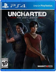 JOGO UNCHARTED THE LOST LEGACY PS4
