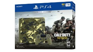 CONSOLE SONY PLAYSTATION 4 SLIM 1TB CALL OF DUTY WW 2 LIMITED EDITION