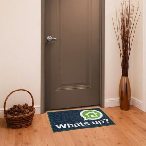 Capacho Whats Up My Door 40x60 cm - Kapazi