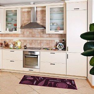 Passadeira para Cozinha 40x1,20 cm Kitchen Menu - Kapazi