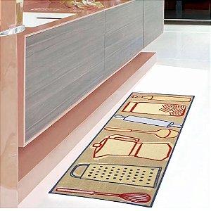Passadeira para Cozinha 50x1,60 cm Gourmet Utensílios - Kapazi