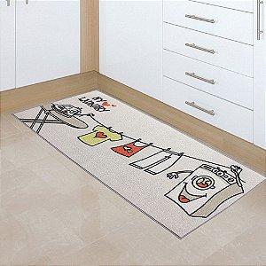 Passadeira para Lavanderia Laundry Varal 50x1,20 cm - Kapazi