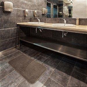 Tapete para Banheiro Topázio Linen 40x60 cm - Kapazi
