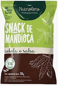 Snack de Mandioca sabor Cebola e Salsa (30g)