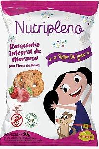 Biscoito Show da Luna | Rosquinha Integral de Morango (30g)