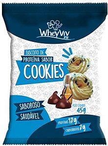 Biscoito Fit de Cookies com Whey | Sem adição de açúcar (45g)