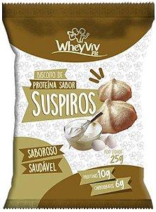 Suspiros com Whey   Sem adição de açúcar (25g)