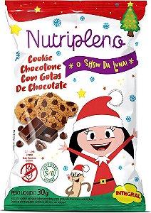 Biscoito Show da Luna | Cookie Chocotone com Gotas de Chocolate (30g)