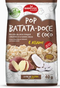 Snack de Arroz e Batata Doce com Coco (40g)