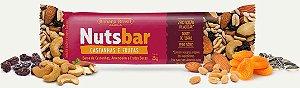 Nuts Bar Castanhas e Frutas Zero Açúcar (25g)