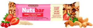 Nuts Bar Morango e Chocolate Branco Zero Açúcar (25g)