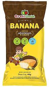 Bolinho de Banana | Zero Glúten, Zero Açúcar e Zero Lactose (40g)