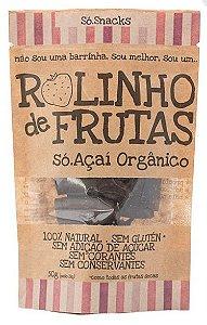 Rolinho de Frutas Só Açaí Orgânico (50g)