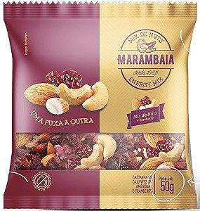 Mix de Nuts Amêndoa, Castanha de Caju e Cranberry (50g)