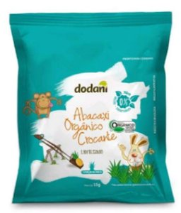 Abacaxi Orgânico Crocante (15g)