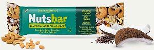 Nuts Bar Castanhas, Coco e Nibs de Cacau Zero Açúcar (25g)