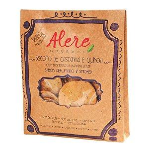 Biscoito Defumado Castanha e Quinoa (70g)