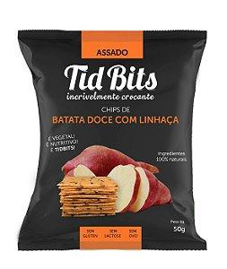 Chips de Batata Doce com Linhaça (50g)
