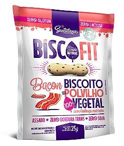 Biscoito de Polvilho Biscofit Bacon com linhaça (25g)