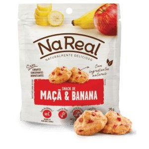 Snacks de Maçã e Banana (20g)