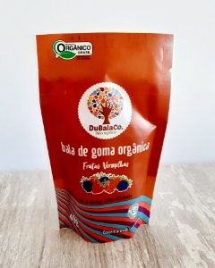 Bala de Goma Orgânica Frutas Vermelhas (40g)