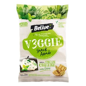 Snack VEGGIE Cream Cheese com Ervas (35g)