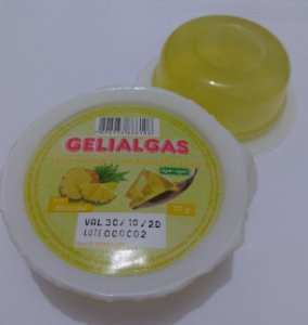 Gelatina Vegetal de Agar-Agar sabor Abacaxi (70g)