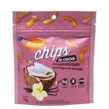 Chips de Coco Caramelizado | Sem adição de açúcar (20g)
