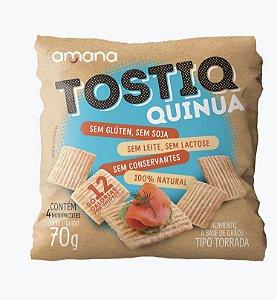 Mini Torrada Tostiq Quinoa com 4 pacotinhos (70g)