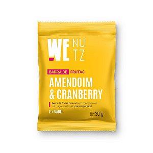 Barra de Amendoim e Cranberry (30g)