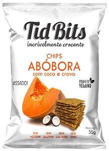 Chips de Abóbora com Coco e Cravo (35g)