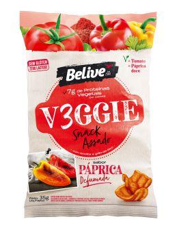 Snack VEGGIE Páprica Defumada (35g)