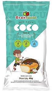 Bolinho de Coco | Zero Glúten, Zero Açúcar e Zero Lactose (40g)