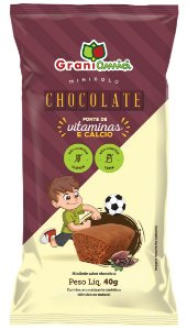 Bolinho de Chocolate | Zero Glúten e Zero Lactose (40g)