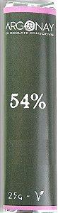 Tablete Chocolate 54% Cacau | Vegano e Sem leite (25g)