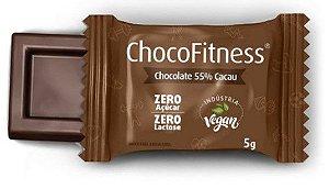 Mini Tablete de Chocolate 55% Cacau | Sem adição de açúcar (5g)