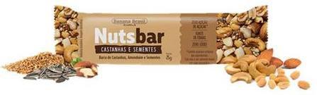 Nuts Bar Castanhas e Sementes | Zero Açúcar (25g)