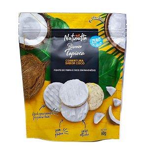 Biscoito de Tapioca e cobertura de Coco | Zero açúcar (60g)