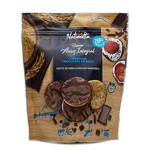 Biscoito de Arroz Integral coberto com Chocolate Amargo | Zero açúcar (60g)