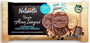 Biscoito de Arroz com Chocolate Amargo | Zero açúcar (16g)