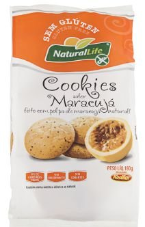 Cookies sabor Maracujá | Sem glúten e sem leite (180g)