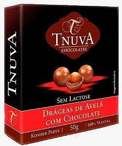 Drágeas de Avelã com Chocolate | sem leite (50g)