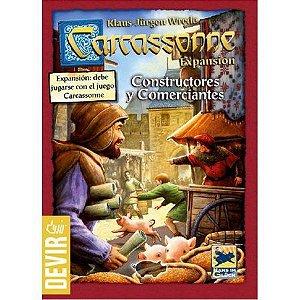 Carcassonne: Comerciantes e Construtores (2a Edição) [Expansão]