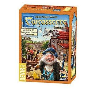Carcassonne: A Abadia e o Alcaide (2a Edição) [Expansão]