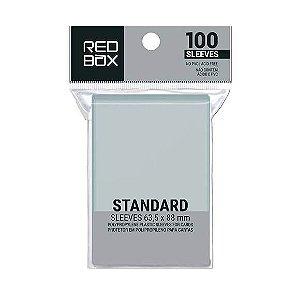Sleeves Padrão (63,5mm x 88mm) - Red Box