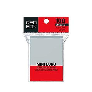 Sleeves Mini Euro (44mm x 68mm) - Red Box