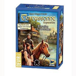 Carcassonne: Pousadas e Catedrais (2a Edição) [Expansão]