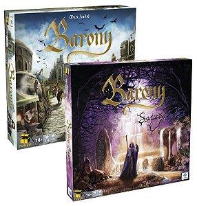 Kit Barony: Jogo Base + Expansão Sorcery